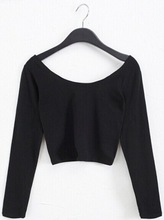 fashion sexy plain crop tops wholesale