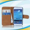 top grade quality beautiful leather cover case for s4 mini