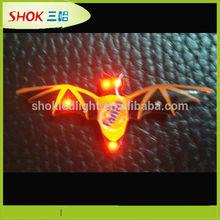 Newest Design Flashing wing lapel pin badge