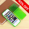 2014 new arrival New Flip Soft TPU Gel Case Cover For iPhone 5 5G