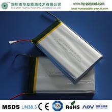 Cheap lipo battery lithium 1263110 10Ah 3.7V rechargable li-ion polymer battery