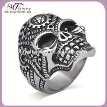 Newest stainless steel ring skull ring
