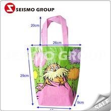 polyester non woven bag popular non woven long strap tote bag
