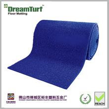 Eco-friendly dreamturf grass mat high performanc dark blue bath mat