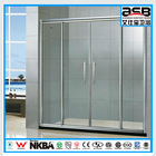 6mm Glass factory direct folding bath shower screen