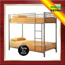 Barato Bed Designs / cama / cama de beliche de aço / Double Decker cama beliche / Guangzhou modelos de Metallic camas