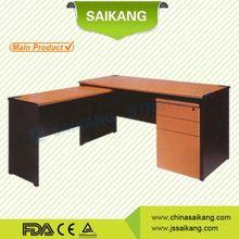 office furniture solid steel-wood computer desk