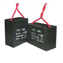 black plastic case square type ac motor run capacitor type cbb61 20uf 250v