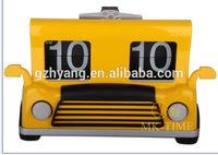 Mktime Car Design Clock Unique Desk Flip Clock