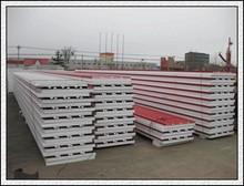 China alibaba best seller manufacturer EPS,PU rock wool sandwich panel production
