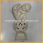 lovely resin angel figurine for home decor polyresin angel