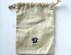 small eco-friendly canvas drawstring bag