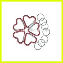 Fashionable heart Shaped Carabiners