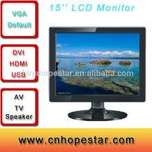 Lcd monitor with rca input HDMI input ,VGA input