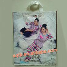 carton picture printed plastic soft loop handle bags