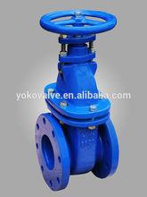 bs cast iron non-rising stem gate valve bs3464 pn16