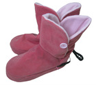 New Designed Girl's Beautiful Electric USB Foot Warmer Boot for Winter
