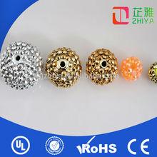 2014 Hot sale flat back new fashion acrylic ball