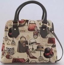"""14""""Wintage Korean Edition Double Shoulder Starps School bag"""