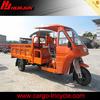 semi-enclosed cabin cargo three wheel mopeds motorcycle/triciclo moto