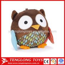 New Owl Plush Soft toy Baby Kid's Mini Stuffed Owl