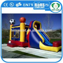 HI EN14960 dolphin commercial inflatable bouncer slide