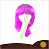 Women Rose Red Hair Fashion Colorful Wigs Synthetic