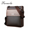 custom make fashion stylish vertical vintage genuine leather men messenger bag