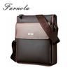 custom make fashion stylish vertical vintage genuine leather men messenger bag