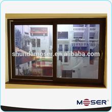 German wooden double glazed sliding window