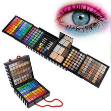 EyeShadow 177 Palette Cheek Blush Lip-gloss Fashion Rich Makeup Set + Mini Eye Brush
