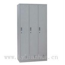 steel 3-door clothes locker