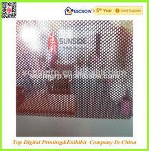 one way vision window sticker,self adhesive one way vision vinyl window film,window covering one way vision
