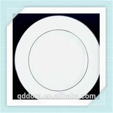 White Antique Porcelain Plates/White Round Cheap Plates Dishes/plate round ceramic blanc