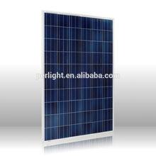 High efficiency flexible 280W Polycrystalline Silicon Solar Panel