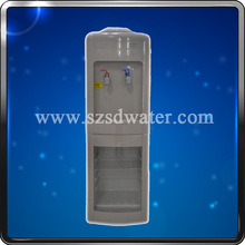 Oridinary Hot&Cold stand type water dispenser with refrigerated cabinet