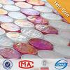 iridescence pink tile round mosaic medallion floor patterns hot pink mosaic tiles pink mosaic tile backsplash