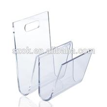 High transparency cheap acrylic bookshelf /high quality acrylic bookshelf