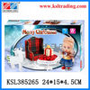 christmas diy funny wooden toy doll house with certificate
