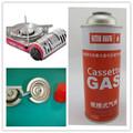 Tampa da válvula de gás pode para cassete fogão com aerosol