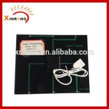 165X130MM 6V 3w Mini Solar Panel with mini USB charge