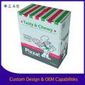 2014 nuovo stile cartone pizza box, cartone ondulato scatola della pizza