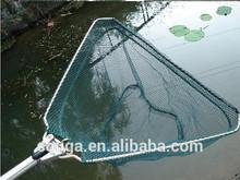 Aluminum alloy white brailer fishing net fishing net brailer rod folding brailer head fishing tackle mount