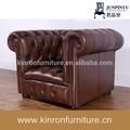 alta qualidade de luxo sofás sofás uesd móveis para sala sofá de couro chesterfield sofa