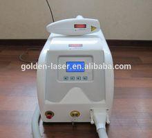Hot sell professional q switch nd yag laser tattoo removal/laser tattoo cleaning machine-yag1 machine