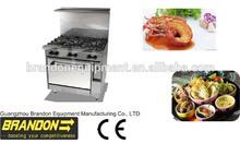 BR36-6 safety gas cooking range manufacturer