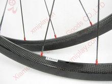 24mm carbon clincher wheels 700c road bike carbon wheelsets basalt brake surface