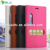 western cell phone flip leather case for nokia lumia 925