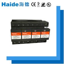 A best quality parallel connection black composite surge arrester