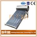 Eco- amigável e melhor qualidade de tubos de vácuo para aquecedor solar de água